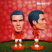 """Football star Soccer Player Star 9# v.PERSIE (NLD 2014) 2.5"""" Toy Action Figure"""