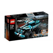 Lego Klocki konstrukcyjne Technic Kaskaderska Terenówka 42059