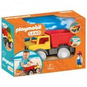 PLAYMOBIL Kiepwagen met emmer 9142