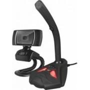 Kit streaming gaming Trust GXT 786 Webcam + Microfon
