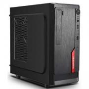Кутия за настолен компютър Segotep AND Mini Black-Red + захранващ блок Segotep SG-M350 350W, ANDMN350-RD_VZ