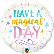 Geen Have A Magical Day bruiloft folieballon 45 cm