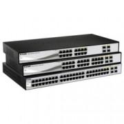 Суич D-Link DGS-1210-48, 1000Mbps, 44-Port, 4 Combo SFP