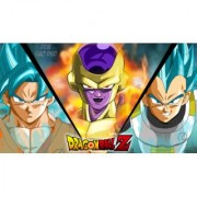 freiza and blue vegeta and goku sticker poster|dragon ball z poster|anime poster|size:12x18 inch|multicolor