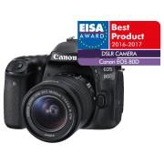 CANON Reflexcamera EOS 80D + 18-55mm (1263C034AA)