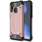 Samsung Galaxy A40 Hybride Hoesje Roze