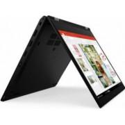 Ultrabook 2in1 Lenovo ThinkPad L13 Yoga Intel Core (10th Gen) i5-10210U 256GB SSD 8GB FullHD Touch Win10 Pro Tast. ilum. FPR Black