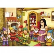 Puzzle cu povesti Noriel – Alba ca Zapada 100 de piese