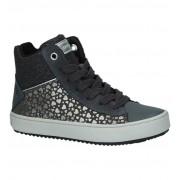 Geox Grijze Geox Sneakers met Hartjes