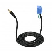 YKT-AB059 De 8 Pines Del Cable De Entrada De Audio Para Coche Coche Macho Cable AUX Para Benz Smart 450 -negro&azul