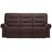 Oak Furnitureland Charcoal Fabric Sofas - 3 Seater Electric Recliner Sofa - Eastbourne Range - Oak Furnitureland