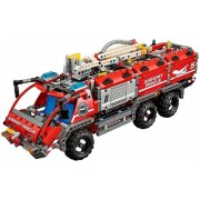 Lego airport-42068 rescue vehicle