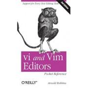 vi and Vim Editors Pocket Reference, Paperback/Arnold Robbins