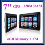 "7"" GPS НАВИГАЦИЯ, 128 MB, 4GB, FM, Windows CE"