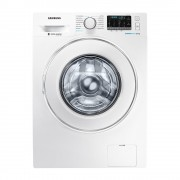 Samsung WW85J54E0IW BubbleWash Steam Front Load Washer