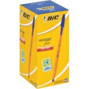 BIC Orange Fine Point Ballpoint Pen-Blue-Fine