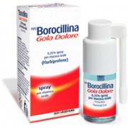 Alfasigma Spa Neoboro Golado 0,25% Spray Per Mucosa Orale Gusto Menta, 1 Flacone Da 15 Ml