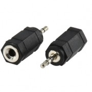 2,5mm jackplug naar 3,5mm jack socket