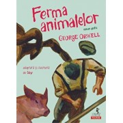 Ferma animalelor (roman grafic)/George Orwell, Odyr
