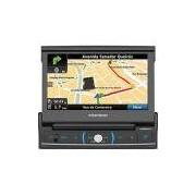 DVD Player Automotivo Positron com Controle Remoto Tela 7 TV Digital USB Bluetooth