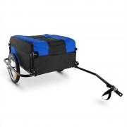 Mountee Rimorchio Bici 130l 60kg Tubi d'acciaio Blu-Nero