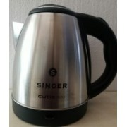 Singer CUTIE 1500 1.5LTR(SKT 150 CSLT) Electric Kettle(1.5 L, White)