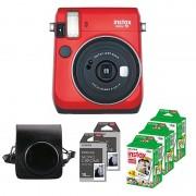 Fujifilm Instax Mini 70 Röd Startpaket