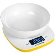 Електронна кухненска везна с купа INNOLIVING INN-132Y - жълта