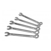 DONAU Mini-Ring-Maulschlüssel Set, 5-teilig 4,0, 4,5, 5,0, 5,5, 6,0 mm