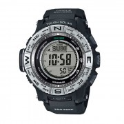 Originales Casio Pro Trek PRW-3500-1DR Triple Sensor Reloj Digital - negro