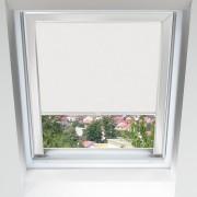 Livani Store pour les fenêtres de toit, Sur mesure, Yaourt blanc