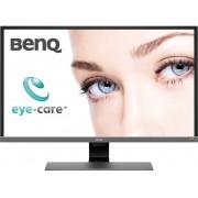 BenQ EW3270U LED-monitor 80 cm (31.5 inch) Energielabel B 3840 x 2160 pix UHD 2160p (4K) 4 ms HDMI, DisplayPort, USB-C USB 3.1, Audio, stereo (3.5 mm jackplug)