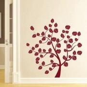 Decor Kafe Summer Tree Wall Sticker