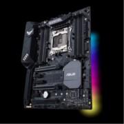 Дънна платка Asus TUF X299 MARK 2, X299, LGA2066, DDR4, PCI-E(SLI&CFX), 6x SATA 6Gb/s, 1x M.2 slot, 2x USB 3.1 Gen 2, ATX