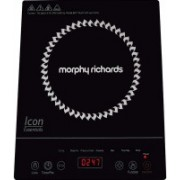 morphy Icon Essential Induction Cooktop(Black, Touch Panel)