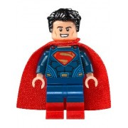 Superman - Dark Blue Suit, Tousled Hair, Red Boots