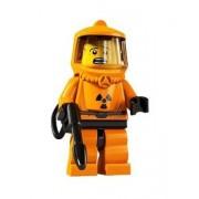 Lego Collectable Minifigures: Hazmat Guy Minifigure - Series 4