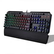 Redragon K555 INDRAH RGB LED Backlit Mechanical Gaming Keyboard (Black)