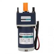 Neufday Motor de engranaje de CC de imán permanente, motor de engranaje de CC de imán permanente de 12V/30W Motor de engranaje de reducción de 3000/3200 RPM(20, 160RPM)