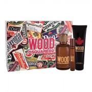 Dsquared2 Wood confezione regalo eau de toilette 100 ml + doccia gel 150 ml + eau de toilette 10 ml Uomo