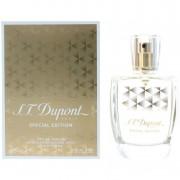 S.t dupont pour femme special edition 100 ml eau de parfum edp profumo donna