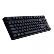 Клавиатура Cooler Master MasterKeys S(Brown MX Cherry Switches), гейминг, механична, сваляем кабел, високопрофилни клавиши, без Numpad, черна, USB