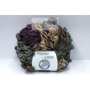 Fir de tricotat sau crosetat - FLOWER by GRUNDL DEGRADE - 08