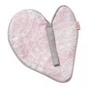 Witlof for kids Little Lof speendoekje misty pink-white knuffeldoekje