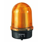 Girofar LED galben rezistent la vibratii - 24V - cu prindere fixa