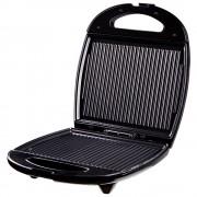 Сандвич тостер за 4 филийки SAPIR SP 1442 AM, 1200 W, Незалепващи плочи, Черен