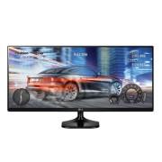 "LG 25UM58 25"" Full HD IPS Black computer monitor"