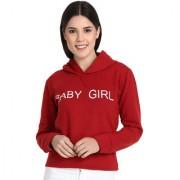 Raabta Maroon Baby Girl Sweatshirt