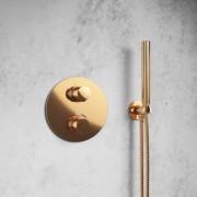 Steinberg Handbrausegarnitur mit integriertem Brauseanschlussbogen, rose gold, 1001670RG, 100.1670RG 1001670RG