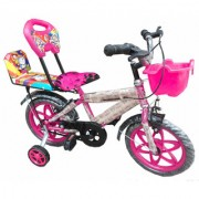 Oh Baby Baby 35.56 Cm (14) double seat bicycle with red color for your kids AXY-LVT-SE-BC-07